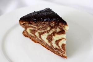 "Шоколадный кекс ""Зебра"""