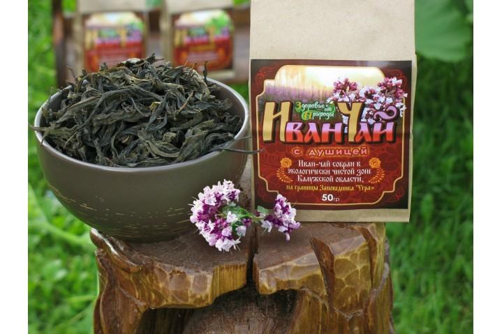 Иван-чай  с душицей ферментированный