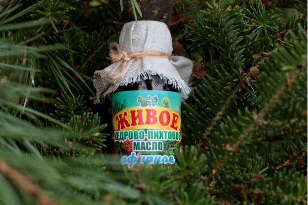 Пихтовое масло купить в Москве в смеси с кедровым