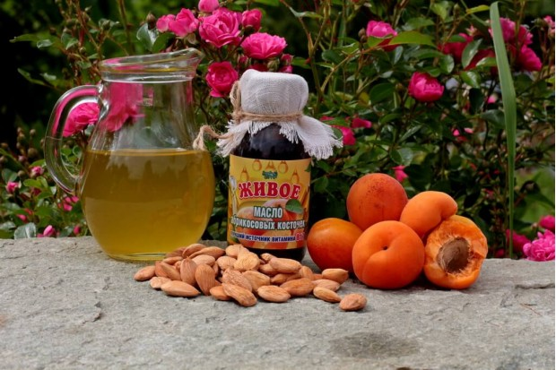 Масло абрикосовых косточек купить 100% холодного отжима