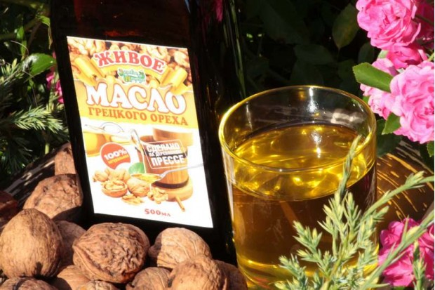 Масло грецкого ореха купить из отборного ореха