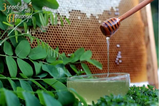 Акациевый мёд натуральный, вкусный