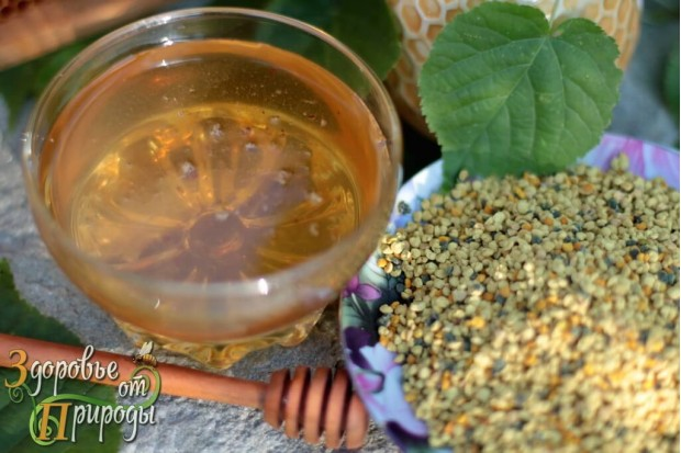 Цветочно-липовый мёд вкусный