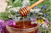 Мёд натуральный с нашей пасеки 700гр