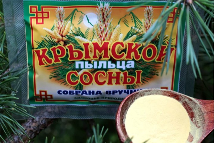 Пыльца сосны Крымской 100гр