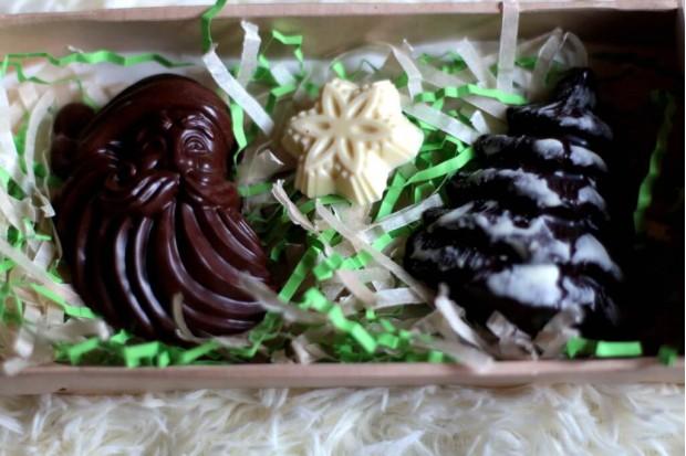 Шоколад Нового года оригнальный