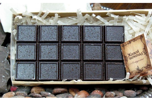 Шоколад с сиропом топинамбура