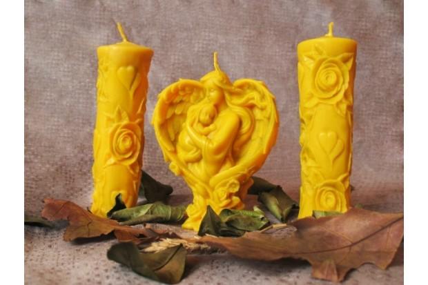 Эксклюзивная свеча из воска