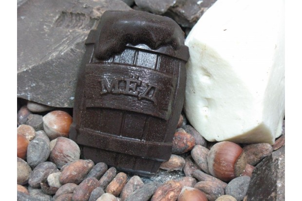 Шоколад на меду сыроедческий