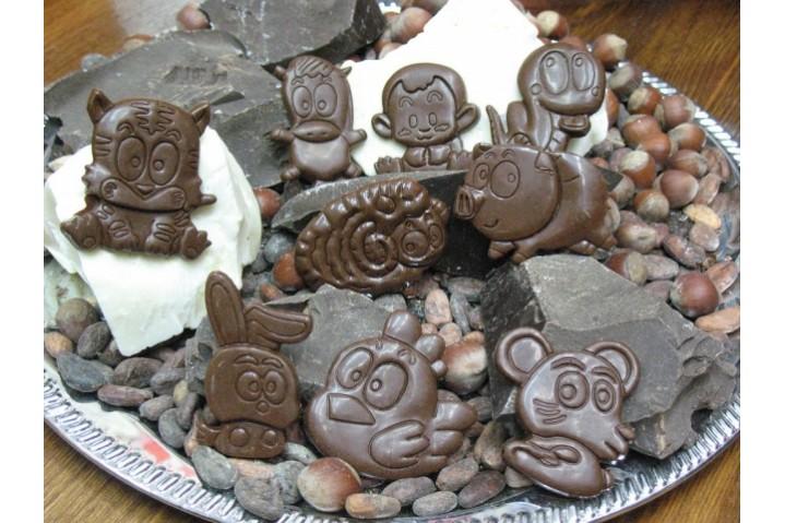 Шоколадный набор для детей 'Зверушки'