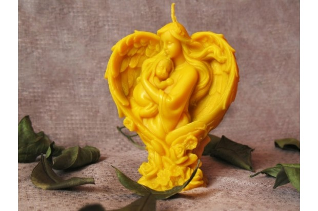 Купить восковую свечу Мамина любовь в подарок для самых любимых и близких