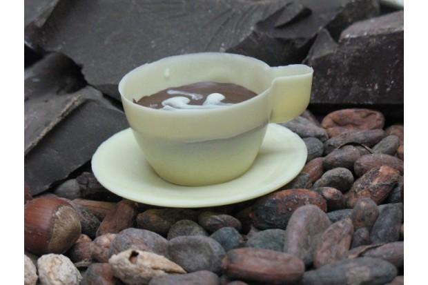 Эксклюзивный шоколад ручной работы в виде чашечки купить в магазине натуральной продукции