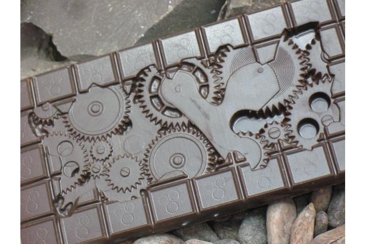 Шоколадная плитка 'Часовой механизм'