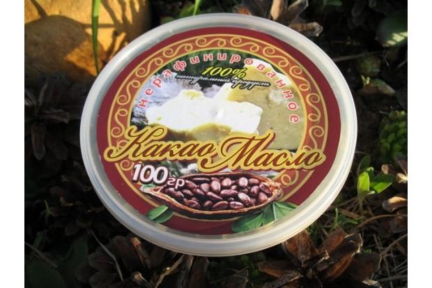 Какао масло натуральное 100% качество