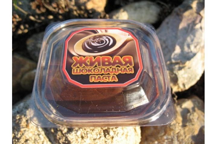 Живая шоколадная паста (без наполнителей)