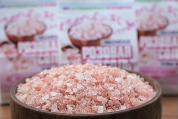 Гималайская соль розовая пищевая из Пакистана