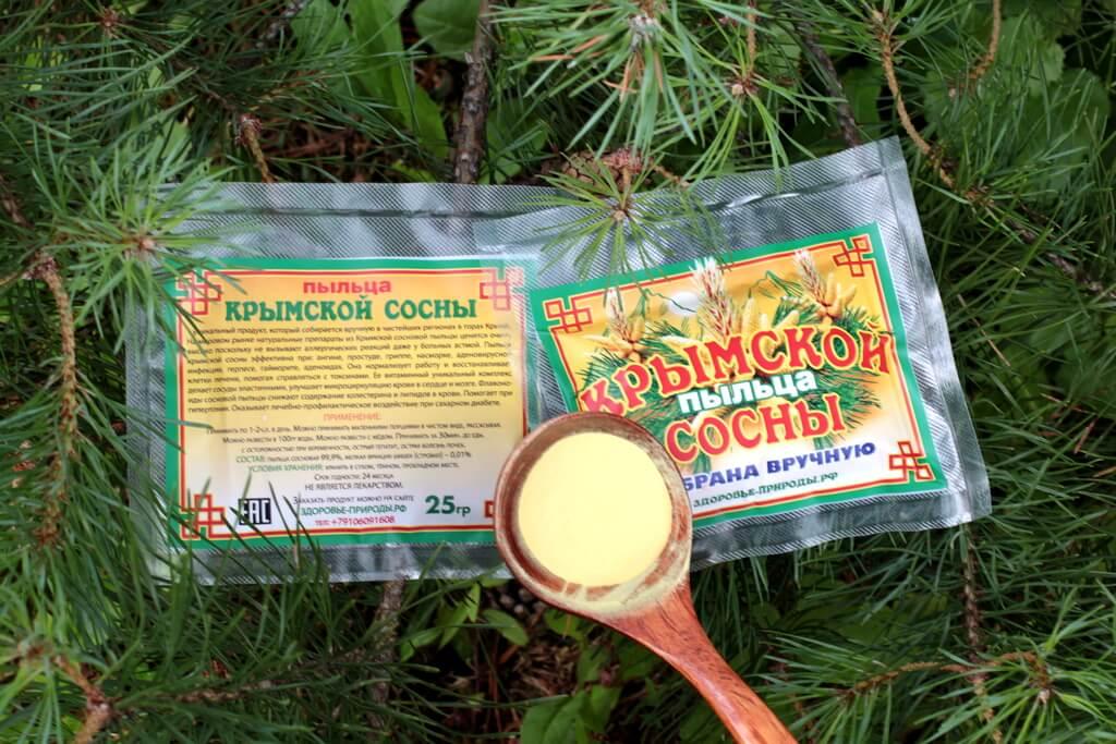 Пыльца сосны крымской для здоровья