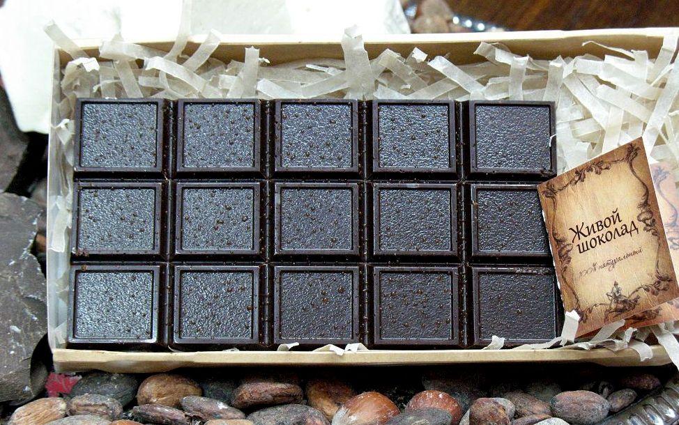 Шоколад с сиропом топинамбура для всех